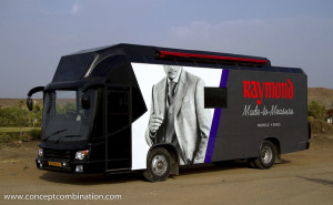 Made on Eicher Bus Chassis