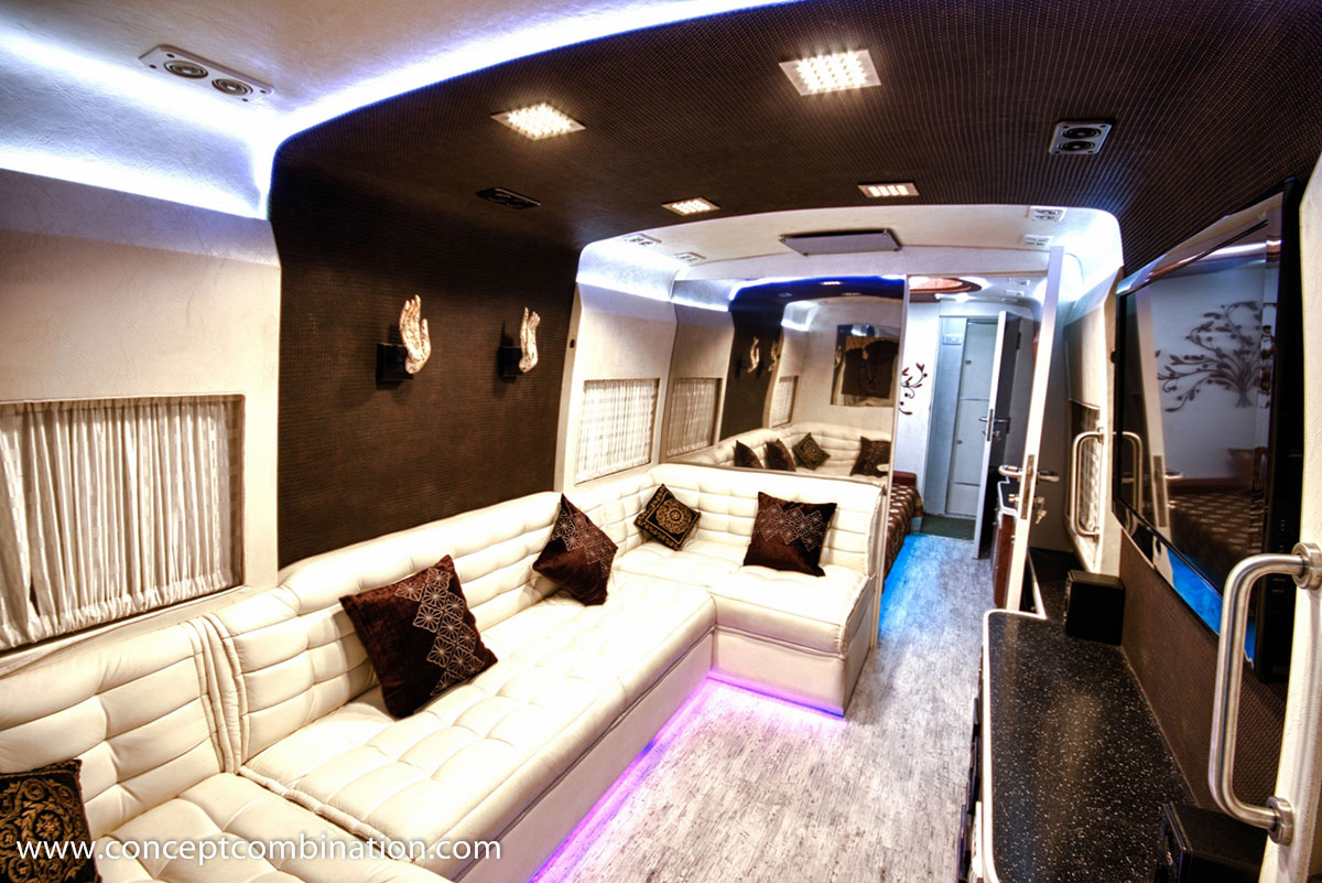 Luxury Bus Made On Eicher Chassis