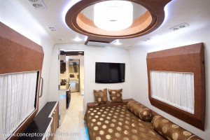 Luxury bus made on Eicher Bus Chassis