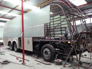 Making of Benz RV