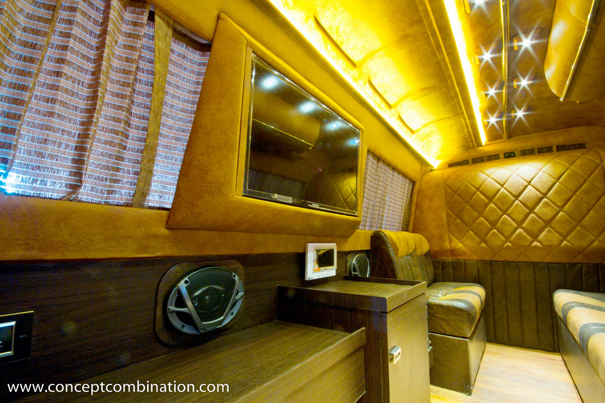 Campervan Made On Tempo Traveller