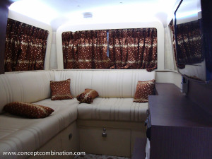 Campervan made on Tata Winger