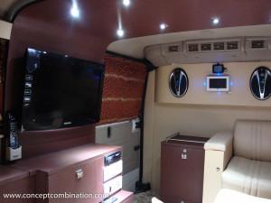 Campervan made on Tata Winger