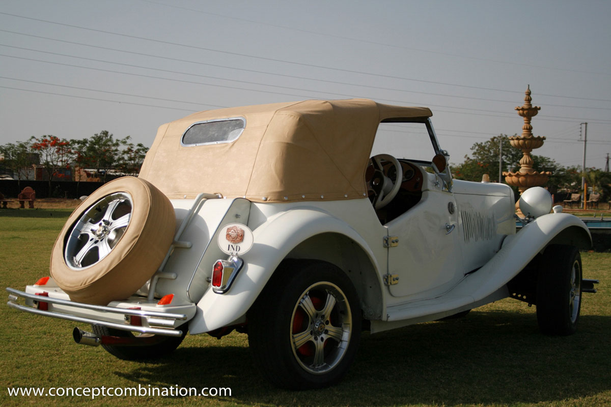 Replica of a Vintage Car - Concept Combination | Caravans, Vintage ...